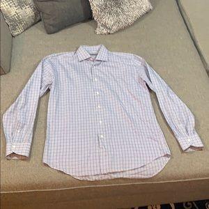 Canali 1934 Italian Dress Shirt (Neck size 16)